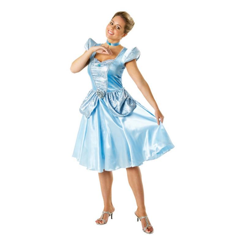 Askungen Prinsessklänning Dräkt Partyhallen.se