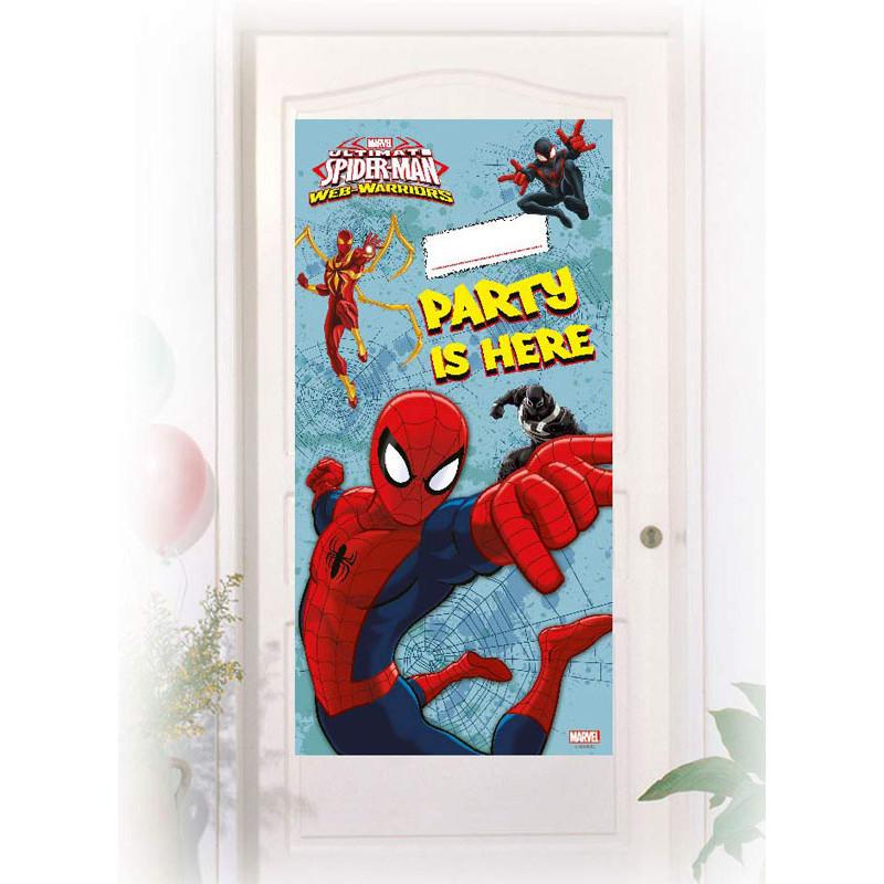 Ultimate Spider-Man Web Warriors Dörrdekoration